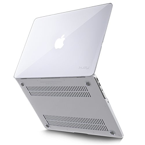 (Kuzy AIR 13-inch CLEAR Crystal Hard Case for MacBook Air 13.3
