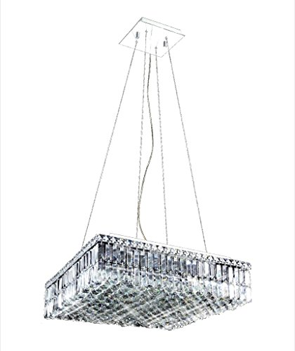 Maxim Square Crystal Chandelier - Square Maxim Chandelier
