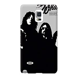 JamieBratt Samsung Galaxy Note 4 Scratch Resistant Hard Phone Covers Allow Personal Design Colorful Insomnium Band Pictures [HwC6062TgmA]
