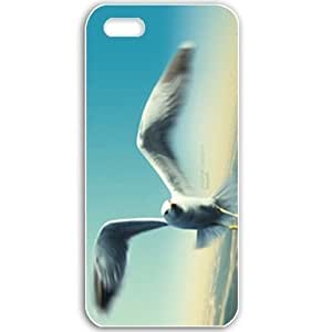 Apple iPhone 5 5S Cases Customized Gifts For Animals Jonathan Livingston Seagull Wide Birds Animals Black