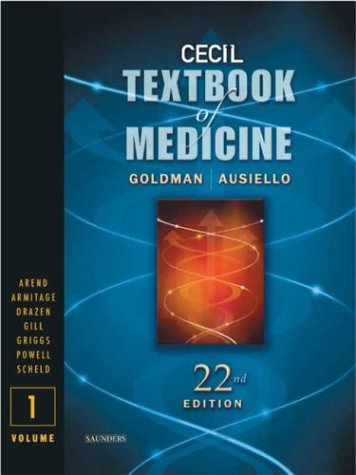 Cecil Textbook of Medicine -- 2-Volume Set, Text with Continually Updated Online Reference
