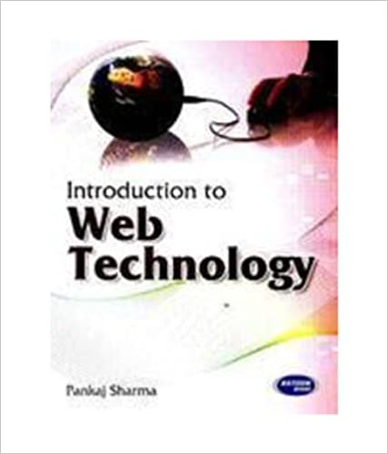 Web Technology Book By Pankaj Sharma