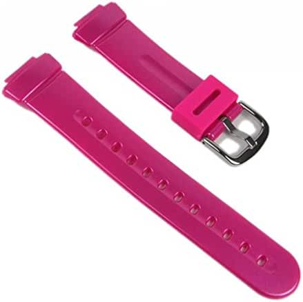 Casio watch strap watchband Resin Band Pink BG-1006SA-4AV BG-1006SA