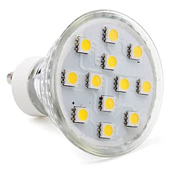 Foco de luz TTAYuan - MR16 (luz blanca cálida GU10 - 2.5 W