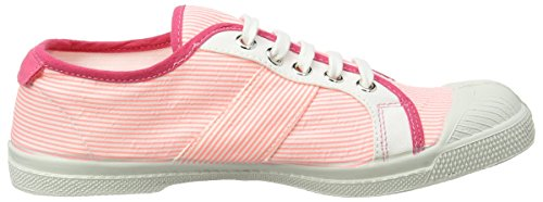 Rose Fines Rayures Bensimon Tennis Baskets Femme Kelly xqYEfCEw