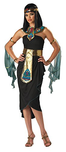[InCharacter Costumes Women's Cleopatra Costume, Black/Gold, Small] (Egyptian Queen Cleopatra Costume)