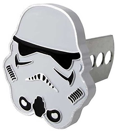 Star Wars Storm Trooper Metal Hitch Receiver Cover (Star Wars Metal World)
