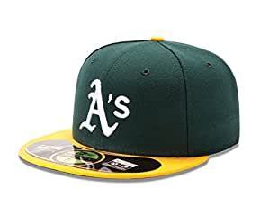 MLB Oakland Athletics Home AC On Field 59Fifty Fitted Cap-678