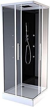 aurlane cab45 N de cabina de ducha negro: Amazon.es: Bricolaje y ...