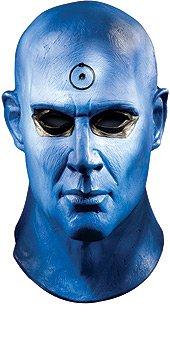 Costume Manhattan Dr (Dr. Manhattan Deluxe Mask Costume)