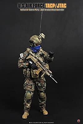 amazoncom soldier story usair force tacp tactical air control party 16 ss075 toys games