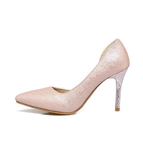 Femme Inconnu 1TO9 Sandales Rose Compensées tt7wB