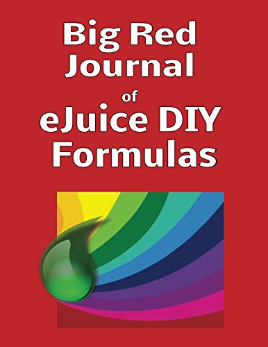 Big Red Journal of eJuice DIY Formulas (Grape Fruit Juice Concentrate)