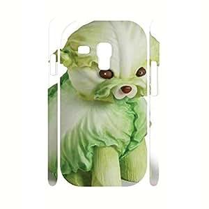 elegant Kawaii Vegetable Pattern Hard Skin Case Cover for Samsung Galaxy S3 Mini I8200 Case