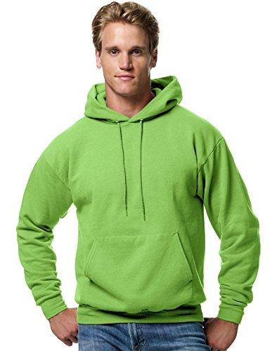 Hanes ComfortBlend EcoSmart Pullover Hoodie Sweatshirt_Lime_S