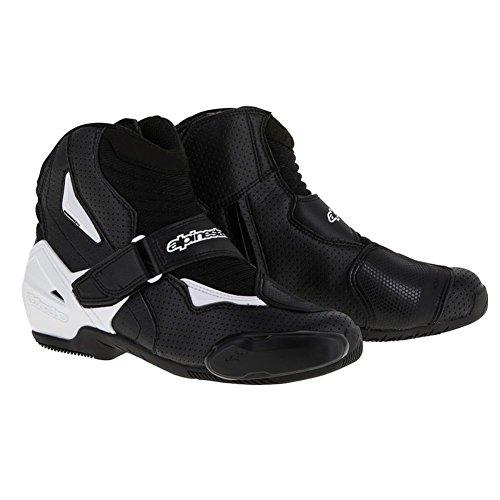 Alpinestars SMX-1 R Vented Boots - 10.5 US / 45 Euro/Black/White
