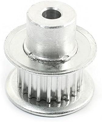Sourcingmap - Parte del motor de pasos de 5 mm de ancho diámetro 11 mm 20-diente de la polea correa de distribución
