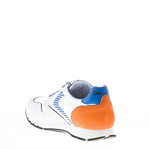 Voile Blanche Uomo Sneaker Liam Dash in camoscio e Nylon Bianco più Azzurro ed Arancione Bianco Footlocker Finishline En Línea Venta Baja Tarifa De Envío Nicekicks En Línea Venta Tienda Online Comprar Tienda De Descuento Barato LNyaDFeM