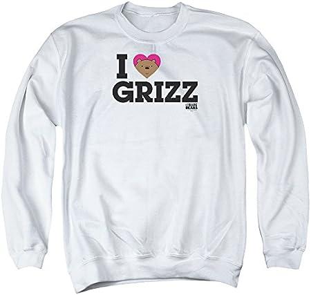 We Bare Bears Heart Grizz - Sudadera para hombre