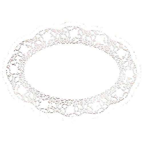 Amscan White Oval Doilies | 10.25