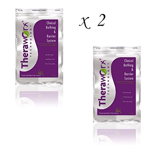 2 Avadim Theraworx Bath Wipes - HX8808 by Theroworx