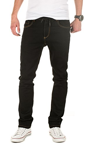 Yazubi Designer Sweatpants in Jeans-look - Slim Fit - Erik - Jeans Jogger Pants