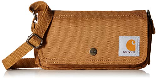 Carhartt Legacy Women's Essentials Crossbody Bag and Waist Pouch, Carhartt Brown