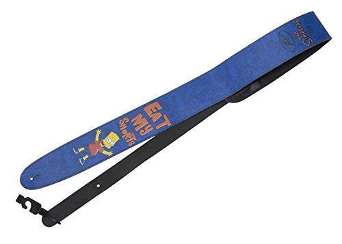 Peavey Leather Guitar Strap Bart Simpson Eat My Shorts 03020410 Acoustic or Electric by Peavey