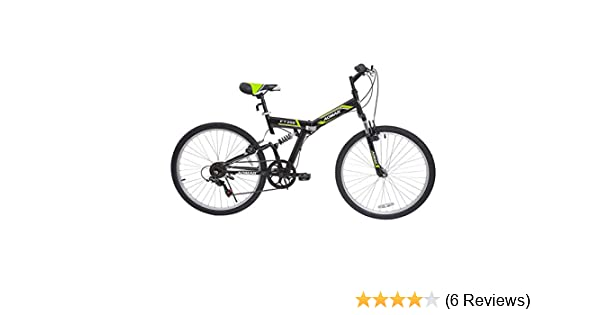 Amazon.com : Murtisol Folding Mountain Bikes 26 Foldable Bikes with Softtail Full Suspension & Designed Folding Fork & Adjustable Seat & 7 Speeds Shimano ...