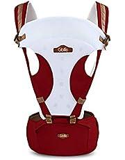GBlife Mochila Portabebé 5 en 1 de Diseño Ergonómico Ajustable Portadores Marsupios para Recién Nacidos/Bebé