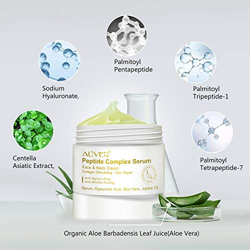 41Q4fAsYRoL - Peptide Wrinkle Cream,Anti-Wrinkle Cream,Anti aging serum,Collagen Peptides For Skin and Neck Moisturizer Cream Firming,Fights the Appearance of Wrinkles, Fine Lines,Best Day and Night