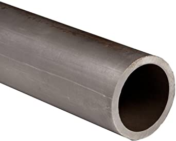 "Carbon Steel 1026 Seamless Hollow Round Bar, 1-3/4"" OD, 1"" ID, 0.375"" Wall"