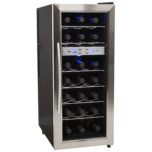 Edgestar 21 Bottle Dual ZoneWine Cooler
