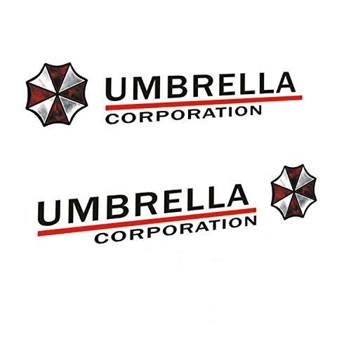 "Athena Resident Evil Umbrella Corp. Parking Vinyl Window Auto Truck SUV Decal Waterproof Bumper Sticker Size: 5.9"" x 1.2"""