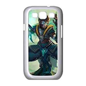 Samsung Galaxy S3 9300 Cell Phone Case White League of Legends Jade Dragon Wukong Pcjvk