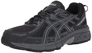 ASICS Men's Gel-Venture 6 Running Shoe, Black/Phantom/Mid Grey, 11 Medium US