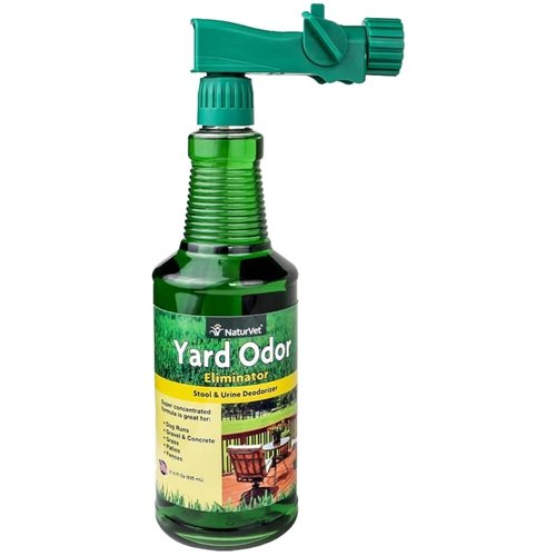 NaturVet Yard Odor Eliminator Concentrate Hose Spray, 31.6 (Grass Yard)