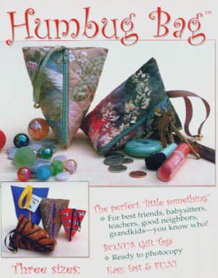 PT2269 Humbug Bag Quilted Purse Pattern by Make It Easy (Bag Patterns Quilted)