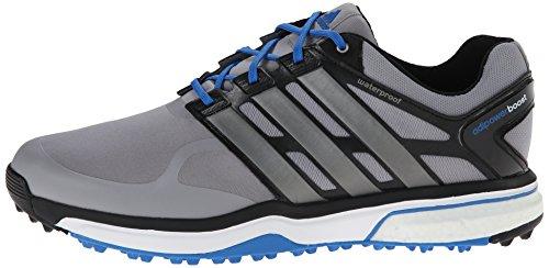 best website 0f642 275ee adidas Men s Adipower s Boost Golf Shoe, Light Onix Dark Silver ...