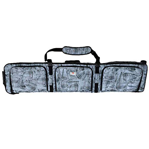 UNISTRENGH Padded Snowboard Bag with Wheels - Travel Bag for Skis, Single Snowboard and Snowboard Boots (with Wheel, ()