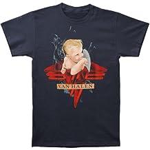 FEA Van Halen Smoking Logo Vintage Short Sleeve T-Shirt