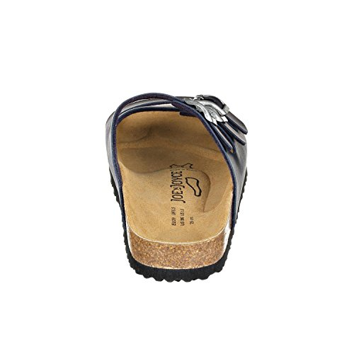 JOE N JOYCE Paris Damen Pantoletten Dark Blue