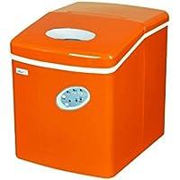 Countertop Mini Compact Portable Ice Cube Maker Machine (Orange)