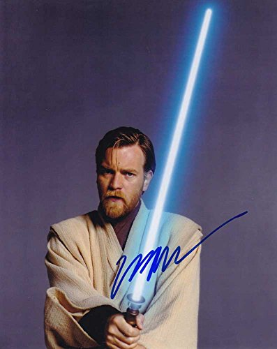 Ewan Mcgregor In-person Autographed Photo Star Wars