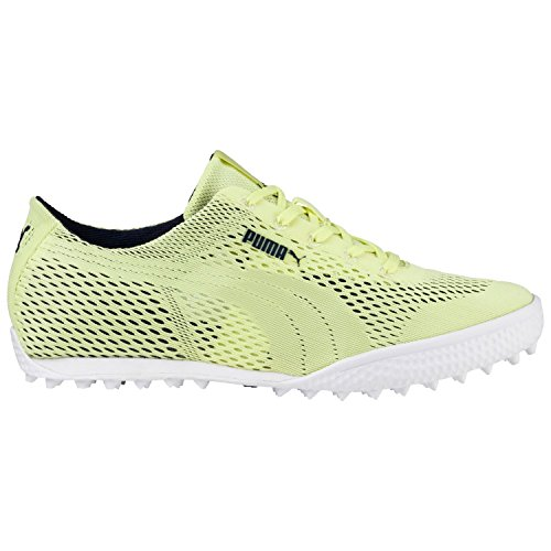 PUMA Golf Women's Monolite Cat Woven Golf Shoe, Sunny Lime/Sunny Lime, 8.5 Medium US
