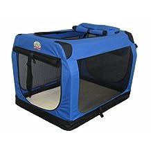 Go Pet Club AC48 48-Inch Soft Portable Pet Carrier, Blue