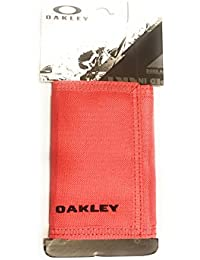MENS RED LINE TRIFOLD VELCRO STATION WALLET