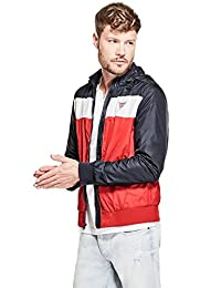 GUESS Factory Men's Benji Nylon Track Jacket