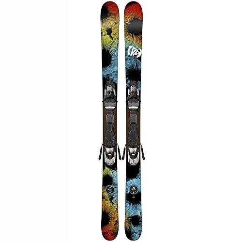 K2 Missy Ski with Fastrak2 7 Binding 2016 - 109cm (Womens Skis Downhill)