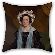 Oil Painting Henry Mundy - Elizabeth, Mrs William Field Pillow Cases 16 X 16 Inches / 40 By 40 Cm Best Choice For Floor Play Room Valentine Club Car Seat Father With Twin Sides